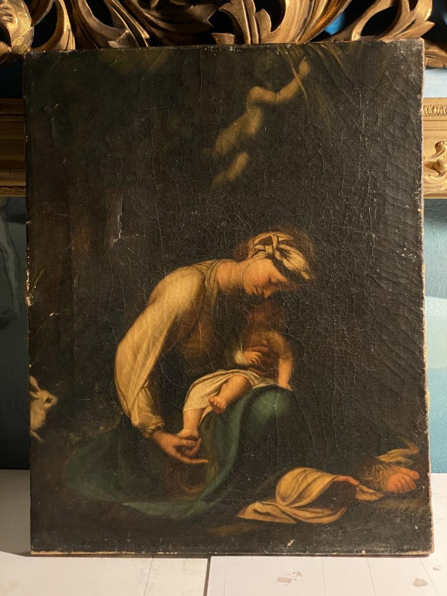"""""""Madonna del Coniglio"""", Correggio"""